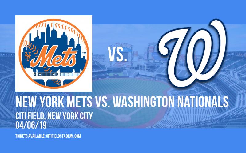 New York Mets vs. Washington Nationals at Citi Field