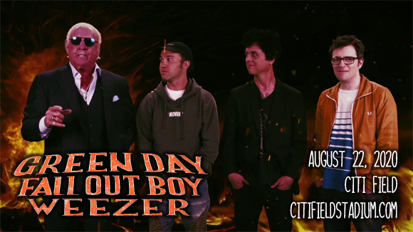 Hella Mega Tour: Green Day, Fall Out Boy, Weezer & The Interrupters [POSTPONED] at Citi Field