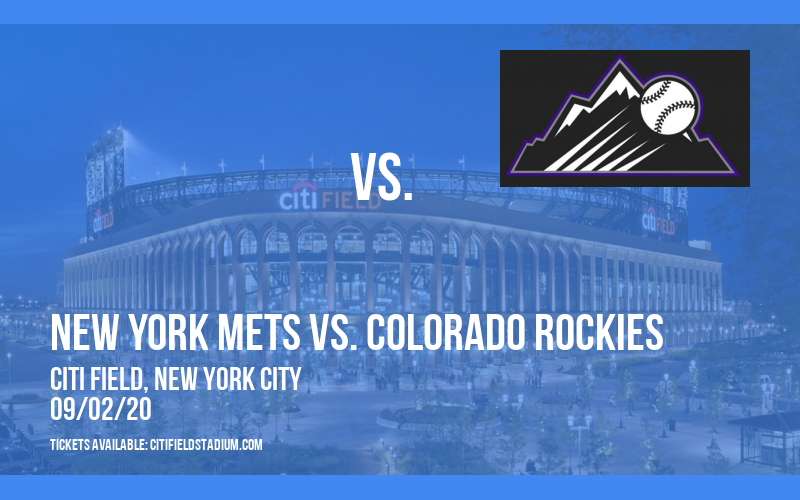 New York Mets vs. Colorado Rockies at Citi Field