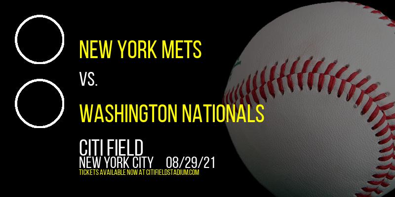New York Mets vs. Washington Nationals [CANCELLED] at Citi Field