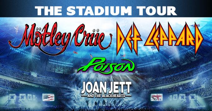 The Stadium Tour: Motley Crue, Def Leppard, Poison & Joan Jett and The Blackhearts at Citi Field