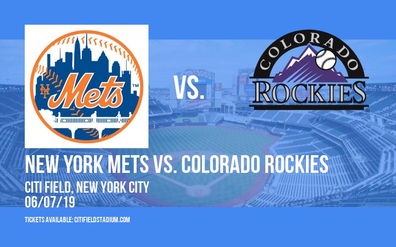 New York Mets vs. Colorado Rockies at Citi Field