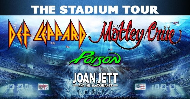 The Stadium Tour: Motley Crue, Def Leppard, Poison & Joan Jett and The Blackhearts [CANCELLED] at Citi Field