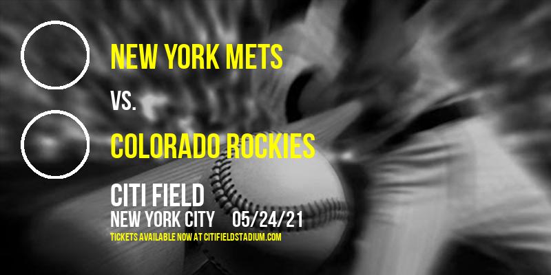 New York Mets vs. Colorado Rockies [CANCELLED] at Citi Field