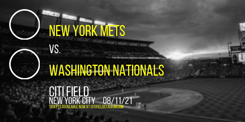 New York Mets vs. Washington Nationals [CANCELLED] at Citi Field