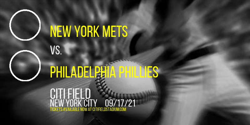 New York Mets vs. Philadelphia Phillies [CANCELLED] at Citi Field